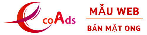 Mẫu web bán mật ong by EcoAds